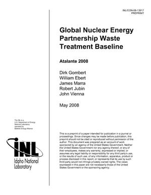 Primary view of object titled 'Global Nuclear Energy Partnership Waste Treatment Baseline'.