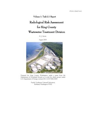 Primary view of object titled 'Radiological Risk Assessment for King County Wastewater Treatment Division'.