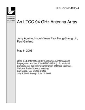 Primary view of object titled 'An LTCC 94 GHz Antenna Array'.