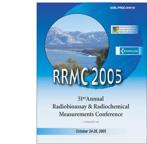Primary view of object titled '51st Annual Radiobioassay & Radiochemical Measurements Conference Proceedings'.