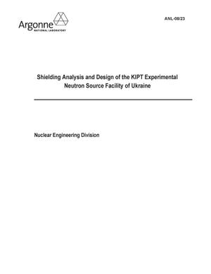 Primary view of object titled 'Shielding analysis and design of the KIPT experimental neutron source facility of Ukraine.'.