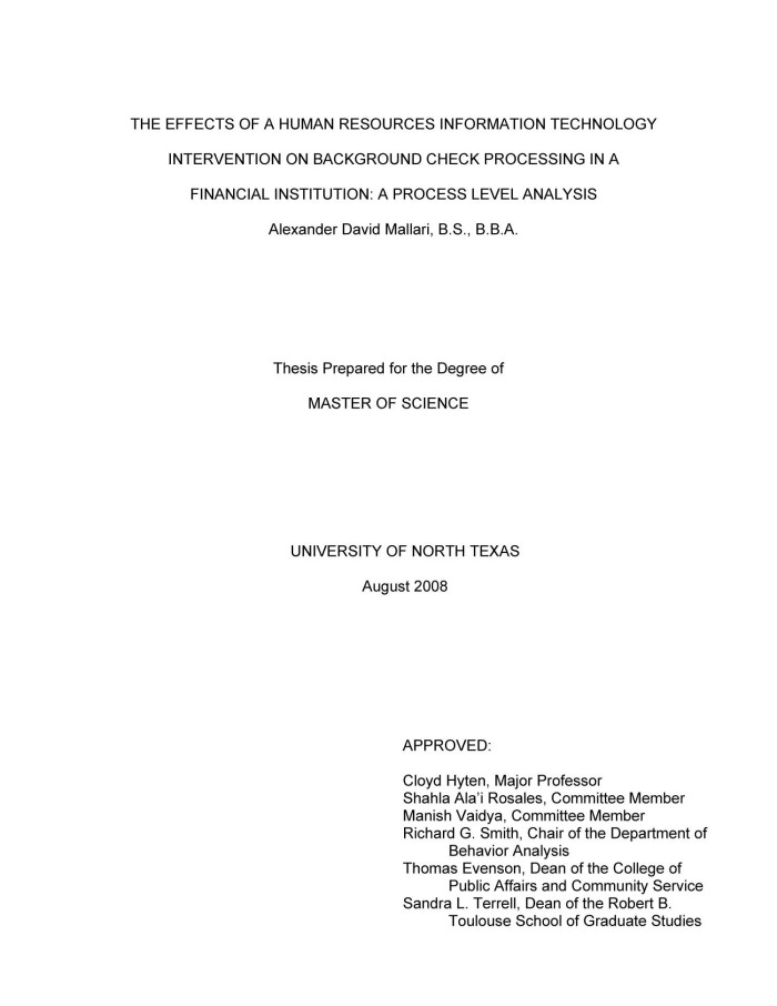information technology thesis proposal