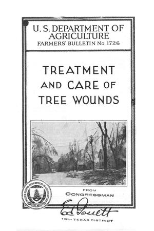 Primary view of object titled 'Treatment and care of tree wounds.'.