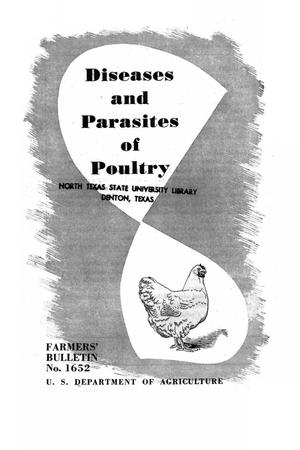 Primary view of object titled 'Diseases and parasites of poultry.'.