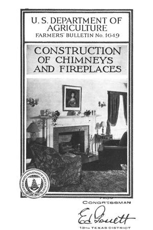 Primary view of object titled 'Construction of chimneys and fireplaces.'.