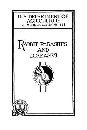 Primary view of object titled 'Rabbit parasites and diseases.'.