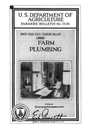 Primary view of object titled 'Farm plumbing.'.