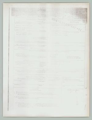 Primary view of object titled '[Involuntary petition: Bankruptcy]'.