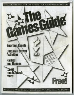 Primary view of object titled '[The Gay Games IV guide]'.