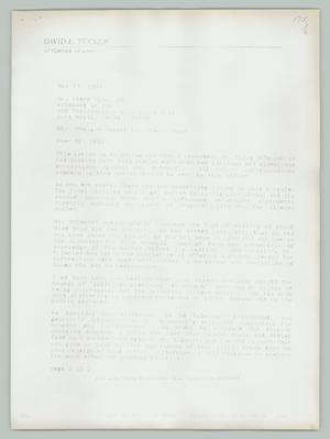 Primary view of object titled '[Re: Craig McDaniel vs. Sharon Boyd]'.