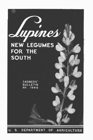 Primary view of object titled 'Lupines : new legumes for the South.'.