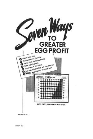 Seven ways to greater egg profit.