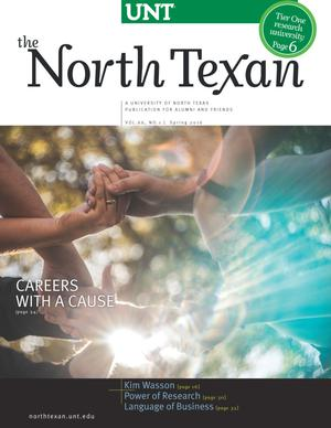Primary view of object titled 'The North Texan, Volume 66, Number 1, Spring 2016'.