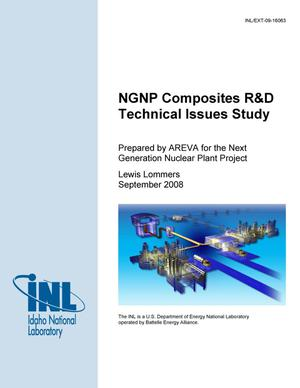 Primary view of object titled 'NGNP Composites R&D Technical Issues Study'.