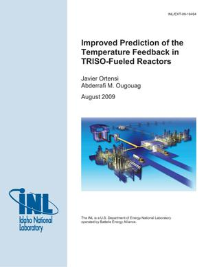 Primary view of object titled 'Improved Prediction of the Temperature Feedback in TRISO-Fueled Reactors'.