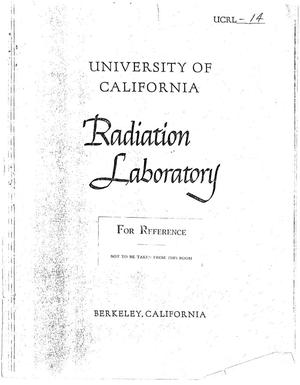 Primary view of object titled 'Progress Report for 1947'.