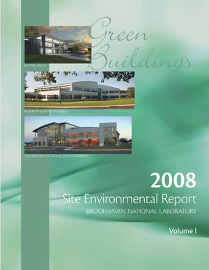 Primary view of object titled 'Brookhaven National Laboratory 2008 Site Environment Report Volume 1'.