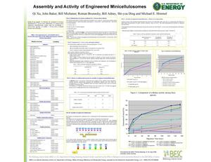 Primary view of object titled 'Assembly and Activity of Engineered Minicellulosomes (Poster)'.