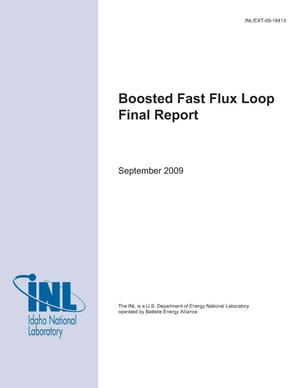 Primary view of object titled 'Boosted Fast Flux Loop Final Report'.