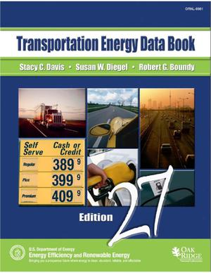 Primary view of object titled 'Transportation Energy Data Book: Edition 27'.