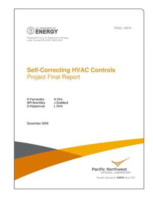 Primary view of object titled 'Self-Correcting HVAC Controls Project Final Report'.