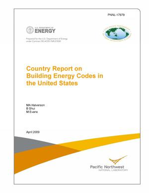 Primary view of object titled 'Country Report on Building Energy Codes in the United States'.