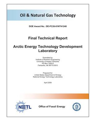 Primary view of object titled 'Arctic Energy Technology Development Laboratory'.