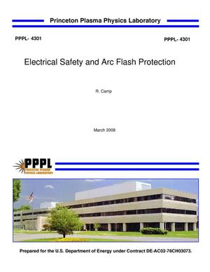 Primary view of object titled 'Electrical Safety and Arc Flash Protections'.