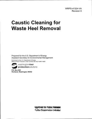 Primary view of object titled 'CAUSTIC CLEANING FOR WASTE HEEL REMOVAL'.