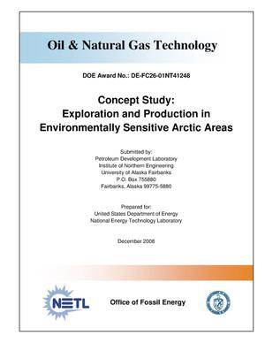 Primary view of object titled 'Concept Study: Exploration and Production in Environmentally Sensitive Arctic Areas'.