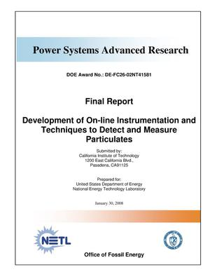 Primary view of object titled 'Power Systems Advanced Research'.