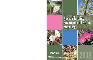 Primary view of object titled 'Nevada Test Site Environmental Report 2008 Summary'.