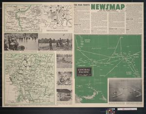 Primary view of object titled 'Newsmap. For the Armed Forces. 237th week of the war, 119th week of U.S. participation'.