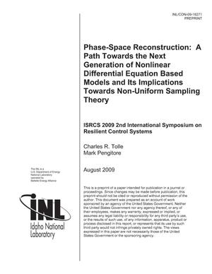 Primary view of object titled 'Phase-Space Reconstruction: a Path Towards the Next Generation of Nonlinear Differential Equation Based Models and Its Implications Towards Non-Uniform Sampling Theory'.