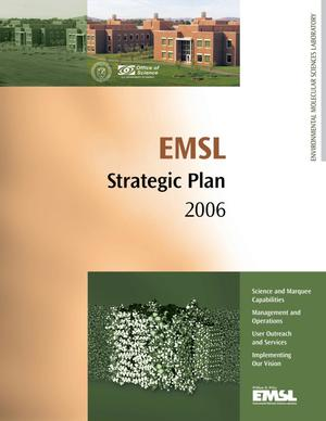 Primary view of object titled 'EMSL 2006 Strategic Plan'.
