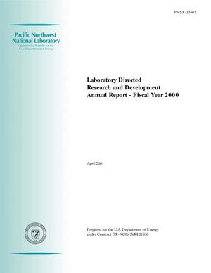 Primary view of object titled 'Laboratory Directed Research and Development Annual Report - Fiscal Year 2000'.