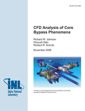 Primary view of object titled 'CFD Analysis of Core Bypass Phenomena'.