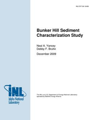 Primary view of object titled 'Bunker Hill Sediment Characterization Study'.