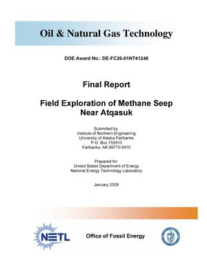 Primary view of object titled 'Field Exploration of Methane Seep Near Atqasuk'.