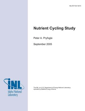 Primary view of object titled 'Nutrient Cycling Study'.