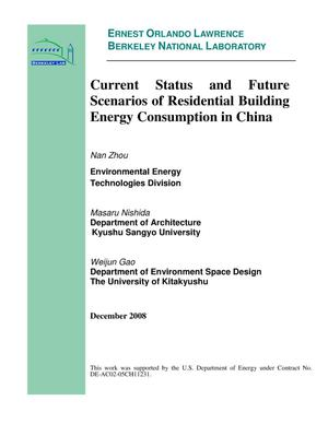 Primary view of object titled 'Current Status and Future Scenarios of Residential Building Energy Consumption in China'.