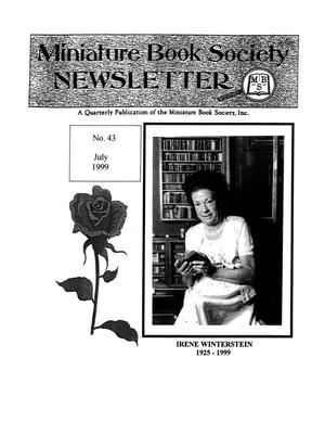 Miniature Book Society Newsletter 1999 July