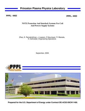 Primary view of object titled 'NSTX Protection And Interlock Systems For Coil And Powers Supply Systems'.
