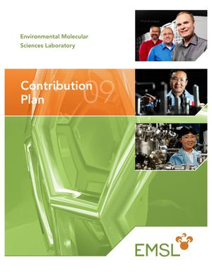 Primary view of object titled 'EMSL Contribution Plan'.