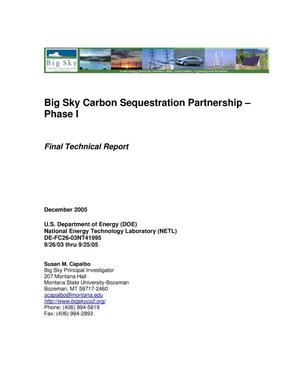 Primary view of object titled 'Big Sky Carbon Sequestration Partnership'.