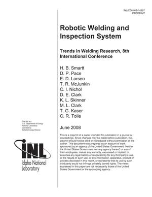 Primary view of object titled 'Robotic Welding and Inspection System'.