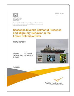 Primary view of object titled 'Seasonal Juvenile Salmonid Presence and Migratory Behavior in the Lower Columbia River'.