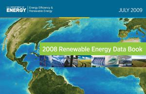 Primary view of object titled '2008 Renewable Energy Data Book'.