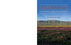 Primary view of object titled 'Hanford Site Near-Facility Environmental Monitoring Data Report for Calendar Year 2008'.