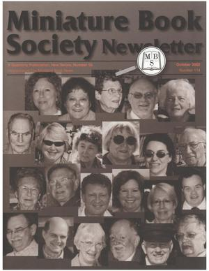 Miniature Book Society Newsletter 2002 October
